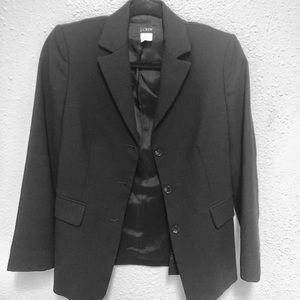 J. Crew Jackets & Coats - J.Crew Fitted Black Blazer Size 2